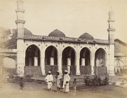 General view of the Hidayat Baksh Madrasa Mosque, Ahmadabad